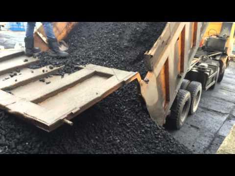 Черное золото! Уголь каменный марки ДПКО (орех) Часть-2.