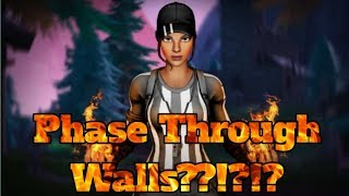 How To Phase Through Walls In Fortnite!! New Glitch!!