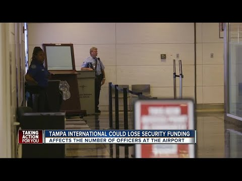 Tampa International could lose security funding