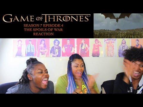 Game of Thrones Season 7 Episode 4 THE SPOILS OF WAR Reaction!!!