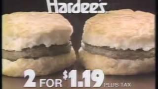 Video 1983 Hardees Commercial download MP3, 3GP, MP4, WEBM, AVI, FLV Juli 2018