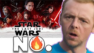 SIMON PEGG COMPLETELY DESTROYS DISNEY STAR WARS AGAIN!  AND THEY HAVE NO ANSWER FOR HIM!