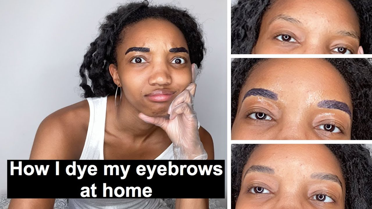 DIY how to dye eyebrows at home: quick and easy tutorial ...