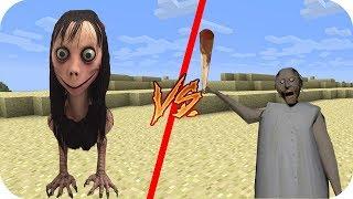 Casa Momo vs Casa Granny - Minecraft pe juego gratis