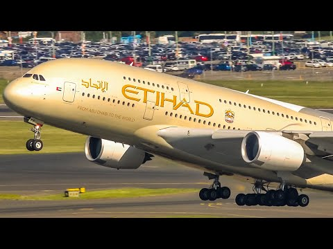 summer's-afternoon-departure-rush-|-a380-b777-b747-|-sydney-airport-plane-spotting