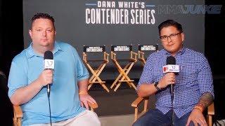 MMA Junkie presents Dana White's Contender Series pre-show