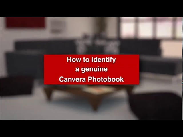 How to Indetify Genuine Canvera Photobook