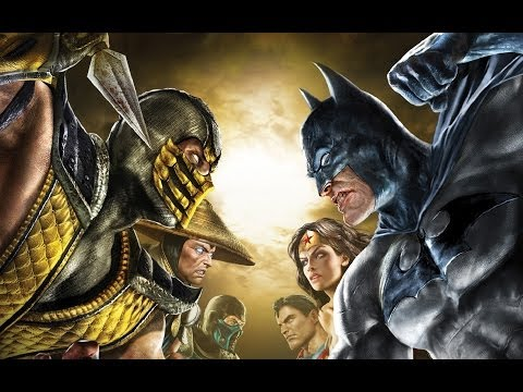 Mortal Kombat Vs  DC Universe Full Movie All Cutscenes