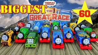 NEW THE BIGGEST! THOMAS AND FRIENDS THE GREAT RACE #60 TRACKMASTER TOY TRAINS THOMAS THE TANK ENGINE