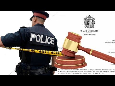 Threatened With LAWSUIT and Contacted by POLICE- Ontario Home Services SCAM / Chand Snider