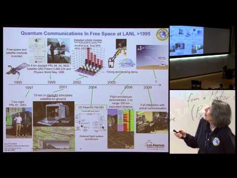 Satellite-based quantum communications - Jane E Nordholt