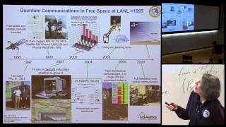 Satellite-based quantum communications - Jane E Nordholt