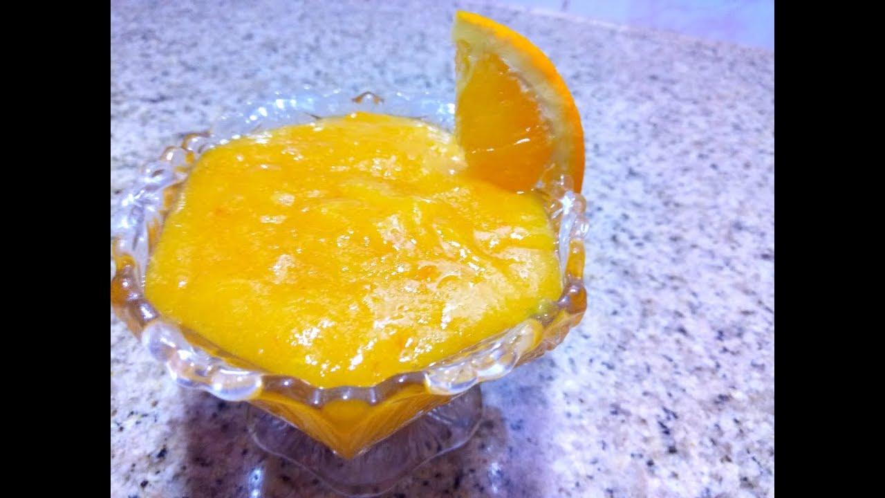 معجون البرتقال المنعش طريقة رائعة هشام للطبخ Youtube Arabic Food Food Condiments