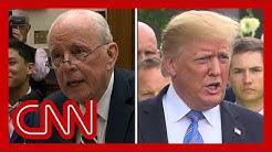 John Dean's testimony draws White House ire