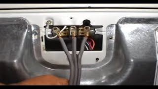 3 prongs power cord installing Whirlpool 29 inch electric dryer
