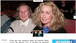 Video Brigitte Fossey pleure un être cher download MP3, 3GP, MP4, WEBM, AVI, FLV September 2017