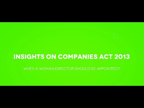 When a Company Should Appoint Woman Director? streaming vf