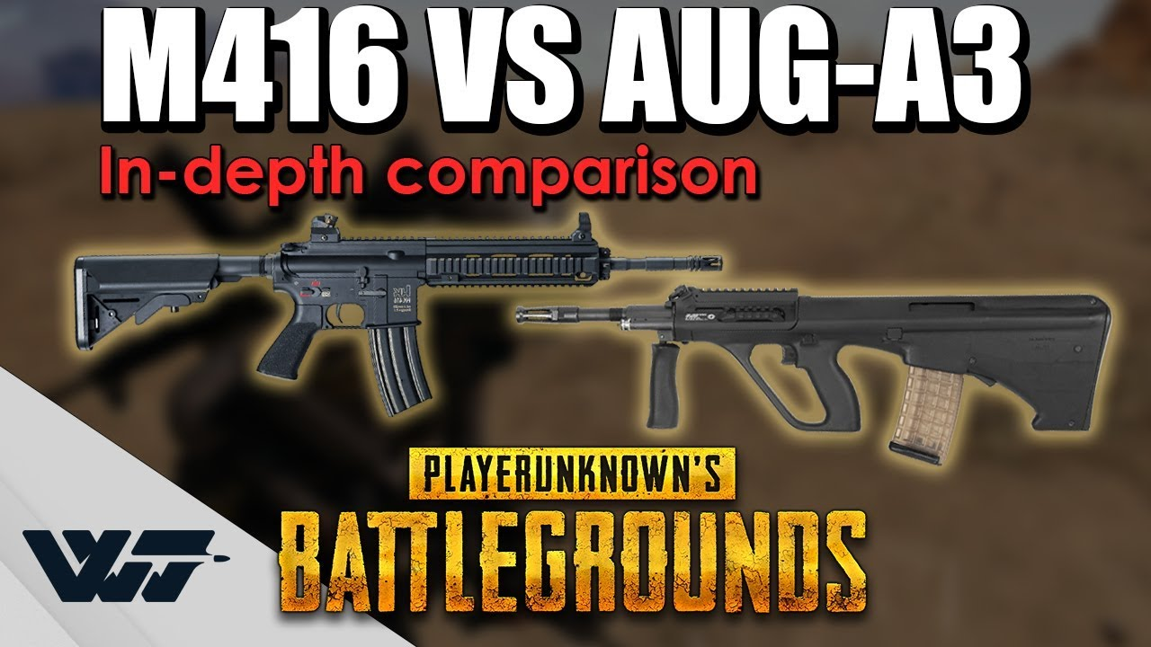 M416 vs AUG A3 • Which is Better?