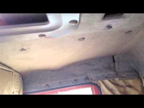 Замена обшивки в кабину автомобиля камаз 5511