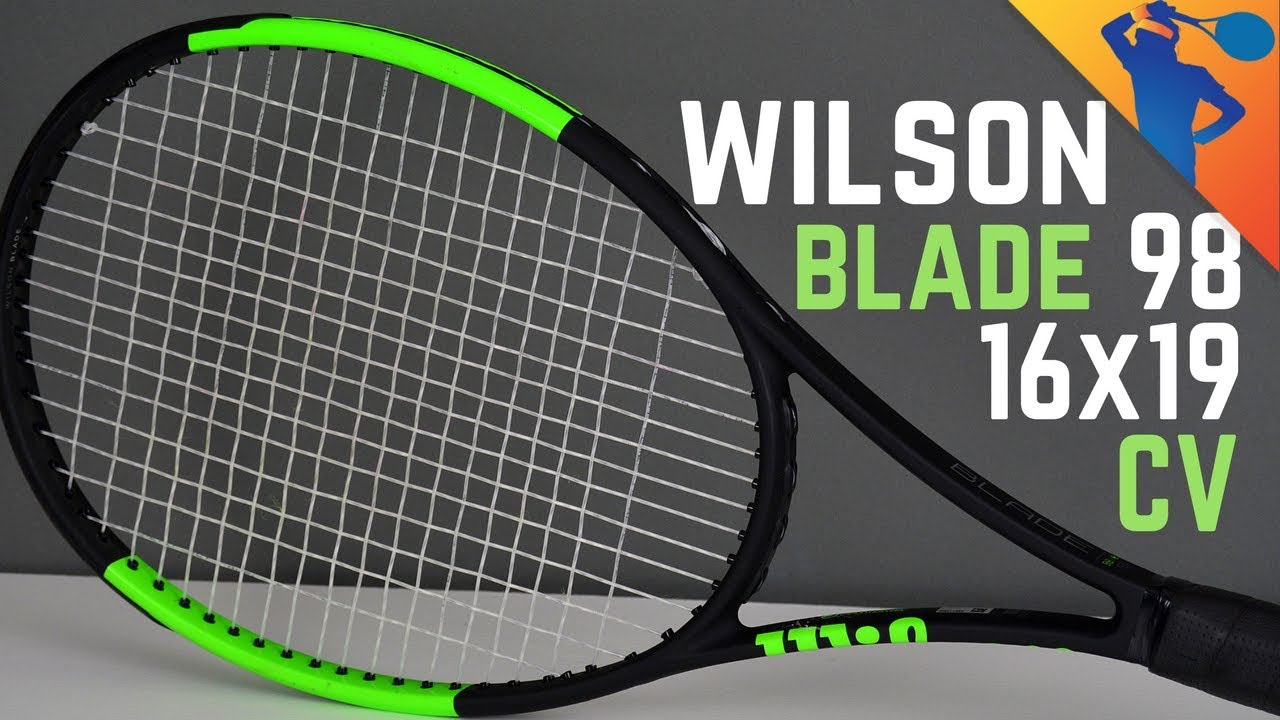 Wilson Blade 98 (16x19) Countervail Tennis Racket Review!