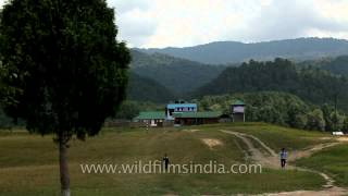The school and the hostel building: Schools of Ziro