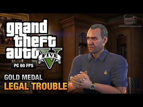 GTA 5 PC - Mission #66 - Legal Trouble [Gold Medal Guide - 1080p 60fps]