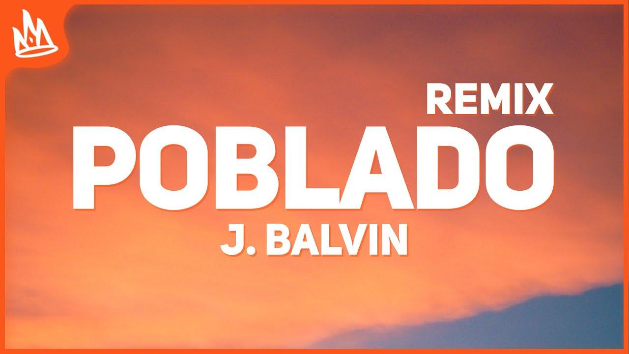 J Balvin - Poblado Remix (Letra) ft. Karol G, Nicky Jam, Crissin, Totoy El Frio, Natan & Shander