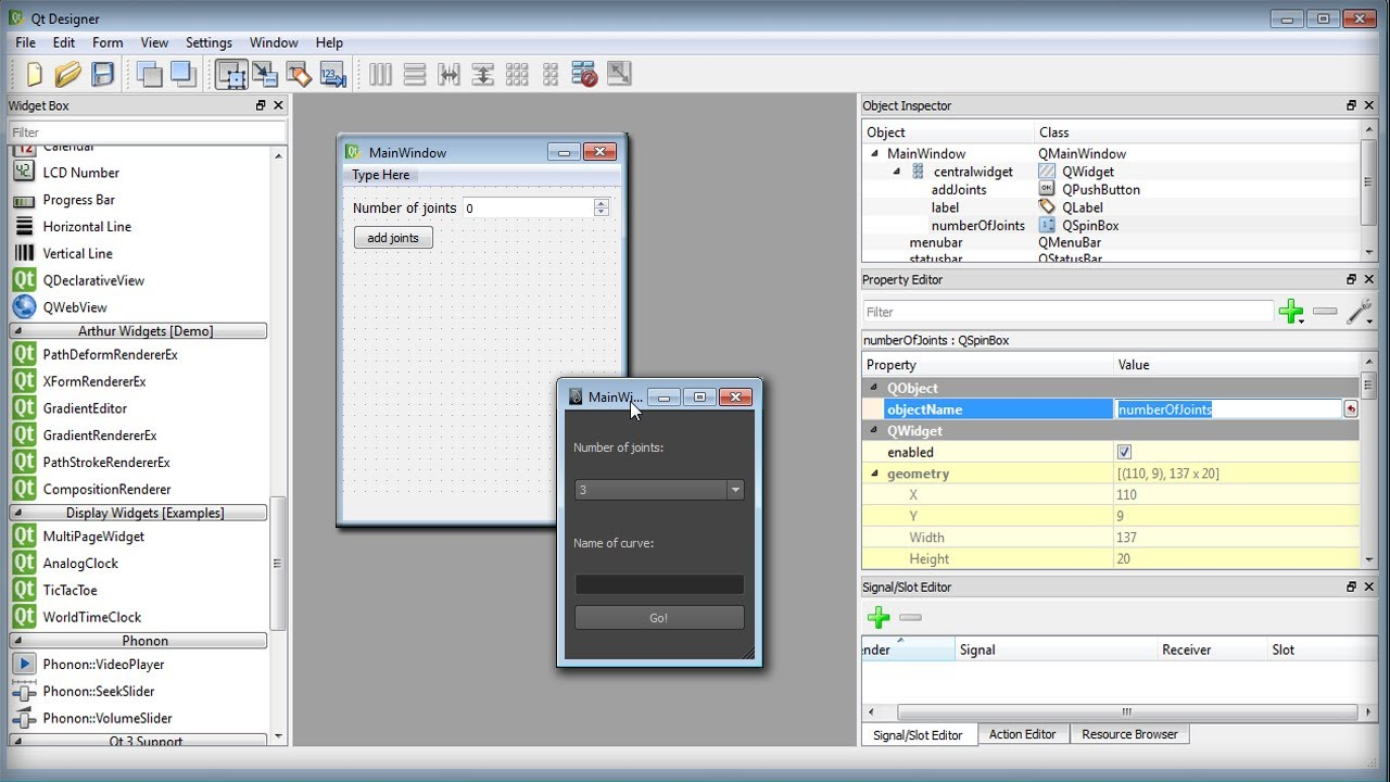 Maya and Qt Designer Tutorial Now Available: Creating Custom User Interfaces