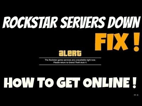 Gta Online Rockstar game services are unavailable rn  Watch this video to  Fix it