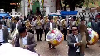 BANDA UNICA Y ORIGINAL ESPECTACULAR REAL MEJILLONES DE LA PAZ BOLIVIA EN CAQUIAVIRI GESTION 2019
