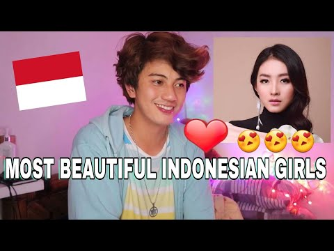 30 Most Beautiful Indonesian Artist Reaction