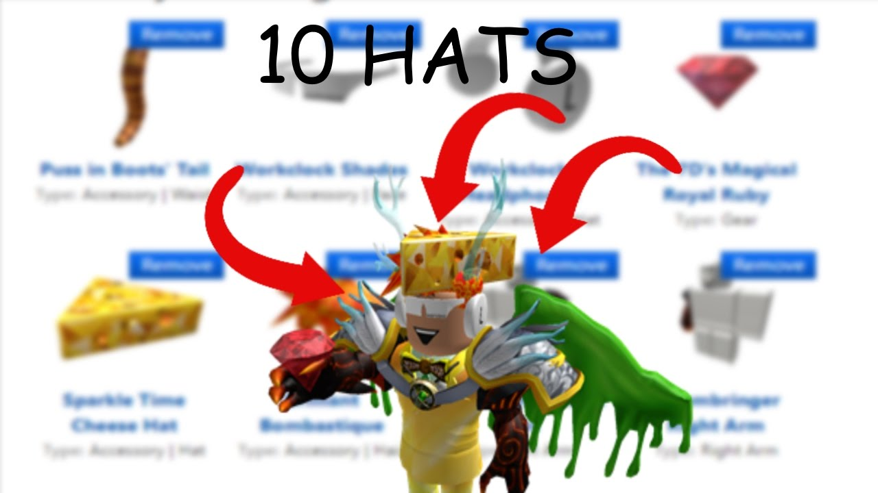 Roblox Can You Wear More Than 3 Hats Youtube How To Wear 10 Hats In Roblox New 2016 No Hacks Youtube