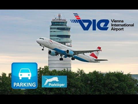Бюджетная парковка в аэропорту Вены, Австрия. Aiprort Wien Schwechat. Budget Parking Vienna Airport