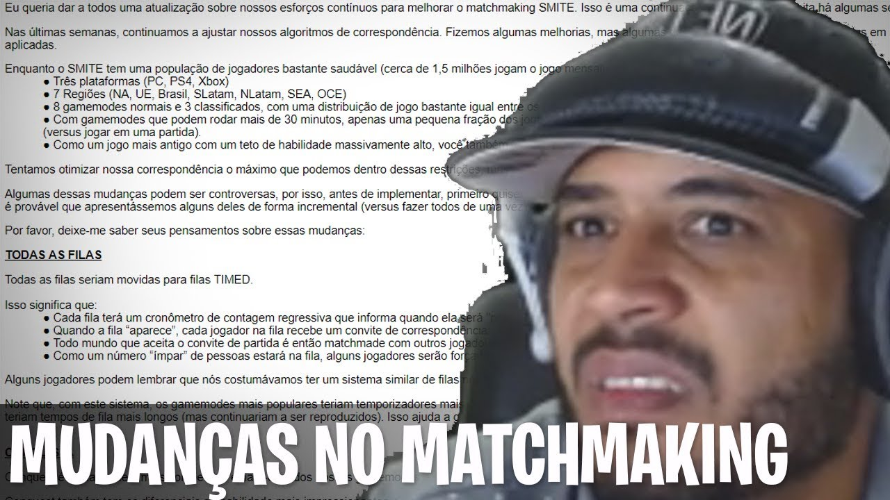 Matchmaking oque significa