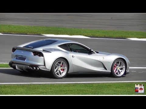 Brand NEW Ferrari 812 SuperFast Look Around - On track at SilverStone