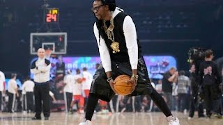 Watch 2 Chainz & Dominique Wilkins Battle In 3-Point Shootout