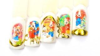 Термотрансферный дизайн ногтей  Фото на ногтях в домашних условиях Автор Елена Дзык