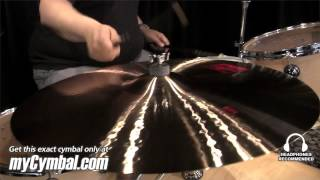"Paiste 24"" 2002 Ride Cymbal - Played by Abe Laboriel Jr. (1061624-1052413F)"