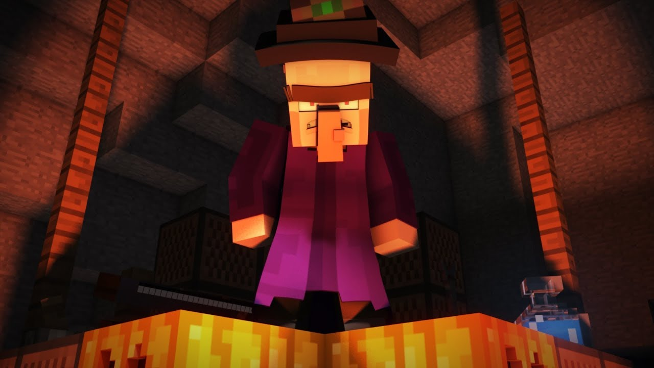 Real Life Minecraft Witch