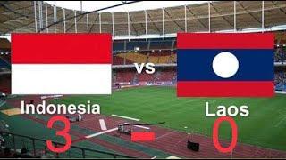 Highlight INDONESIA U16 vs LAOS U16 (3)-(0) || all goal AFC championship 2018 qualifiers.