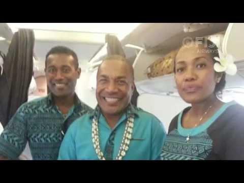 Fiji Airways Cabin Crew Kelera Vuatalevu talks about her experience in Fiji Airways