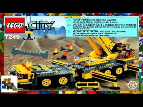 LEGO instructions - City - Construction - 7249 - XXL Mobile Crane