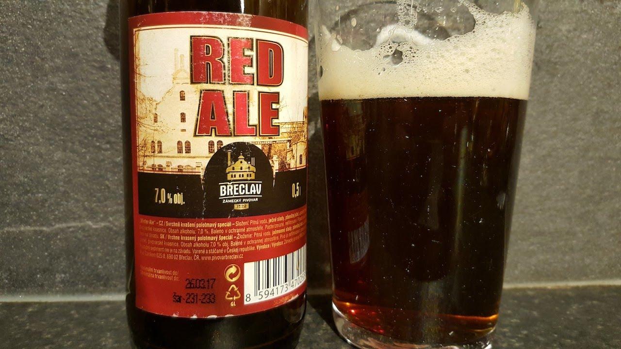 Best Czech Beer?? Zámecký Pivovar Břeclav Red Ale | Czech Craft Beer Review
