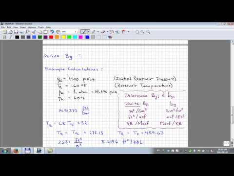 Gas Formation Volume Factor (Part 1 of 2)