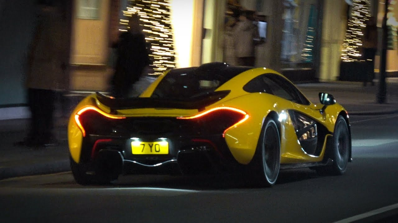 Supercars in London December 2018