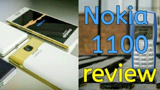 NEW review of Nokia 1100 ! amazing phone