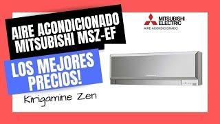 🥇AIRE ACONDICIONADO MITSUBISHI MSZ-EF | Mejor PRECIO Online🔥