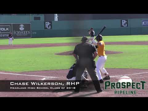 Chase Wilkerson Prospect Video, RHP, Headland High School Class of 2018