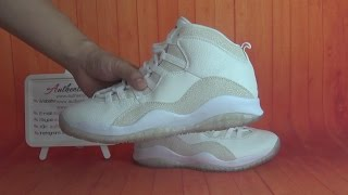 41f8b6d841b Authentic Air Jordan 10 Ovo 10s aj10 HD Unboxing Review From authenticaj