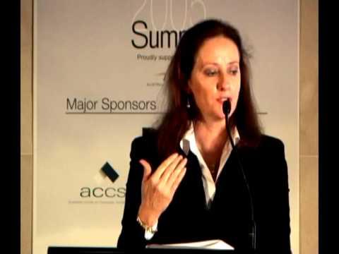 Australia's Inaugural CSR Summit 2005: Linda Funnell-Milner